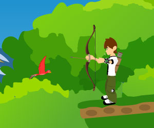 Ben10 Archer, archery game, Play Ben10 Archer Game at twoplayer-game.com.,Play online free game.