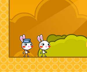 Baby Rabbit Journey, 2 player Rabbit game, Play Baby Rabbit Journey Game at twoplayer-game.com.,Play online free game.