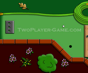 Backyard Mini Golf, 2 Player Golf Game, Play Backyard Mini Golf Game At  Twoplayer