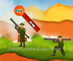 Bazooka Battle, 2 player games, Play Bazooka Battle Game at twoplayer-game.com.,Play online free game.