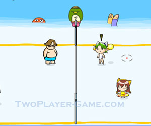 Beach Volleyball, 2 player games, Play Beach Volleyball Game at twoplayer-game.com.,Play online free game.
