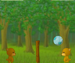 BearBall, 2 player games, Play BearBall Game at twoplayer-game.com.,Play online free game.
