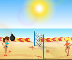 Boom Boom Volleyball, 2 player volleyball game, Play Boom Boom Volleyball Game at twoplayer-game.com.,Play online free game.