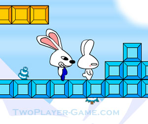 Bounty Hunting Rabbits, 2 player games, Play Bounty Hunting Rabbits Game at twoplayer-game.com.,Play online free game.