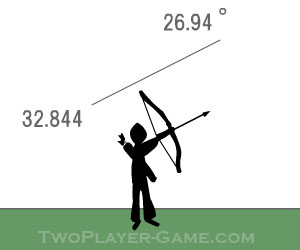 Bowman 1, 2 player archery game, Play Bowman 1 Game at twoplayer-game.com.,Play online free game.