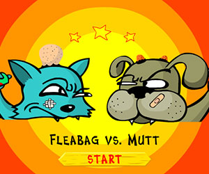 Cat And Dog Fight 2, 2 player games, Play Cat And Dog Fight 2 Game at twoplayer-game.com.,Play online free game.