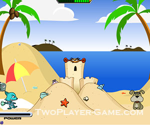 Cat And Dog Fight, 2 player games, Play Cat And Dog Fight Game at twoplayer-game.com.,Play online free game.