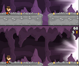 Cave Run, 2 player games, Play Cave Run Game at twoplayer-game.com.,Play online free game.