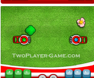 Coca Cola - Landmower, 2 player games, Play Coca Cola - Landmower Game at twoplayer-game.com.,Play online free game.