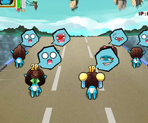 Dada Race, 2 player games, Play Dada Race Game at twoplayer-game.com.,Play online free game.