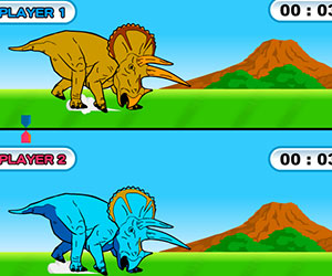 Dinosaur King - Dinolympics, 2 player games, Play Dinosaur King - Dinolympics Game at twoplayer-game.com.,Play online free game.