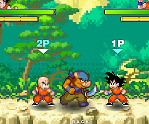 Dragon Ball Fighting 1 7, 2 player games, Play Dragon Ball