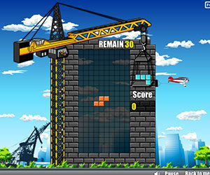 Droptris, 2 player Tetris game, Play Droptris Game at twoplayer-game.com.,Play online free game.