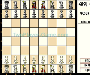 Easy Chess 2, 2 player games, Play Easy Chess 2 Game at twoplayer-game.com.,Play online free game.