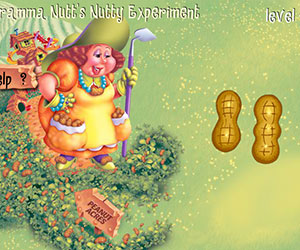 Gramma Nutt's Nutty Experiment, 2 player games, Play Gramma Nutt's Nutty Experiment Game at twoplayer-game.com.,Play online free game.