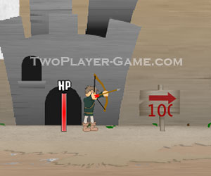 Kingdom Bow, 2 player bow game, Play Kingdom Bow Game at twoplayer-game.com.,Play online free game.