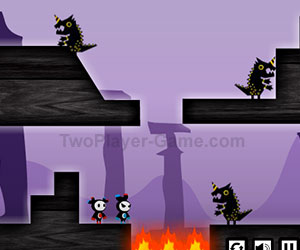 Magnet Ninja, 2 player games, Play Magnet Ninja Game at twoplayer-game.com.,Play online free game.