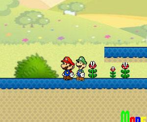 Mario And Luigi Go Home, 2 player Luigi game, Play Mario And Luigi Go Home Game at twoplayer-game.com.,Play online free game.