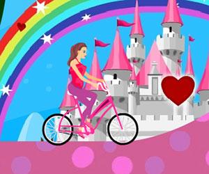 Miss Biker, bike game, Play Miss Biker Game at twoplayer-game.com.,Play online free game.
