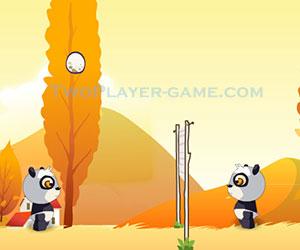 Panda & Eggs, 2 player panda game, Play Panda & Eggs Game at twoplayer-game.com.,Play online free game.