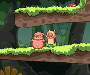 Piggy Wars, 2 player games, Play Piggy Wars Game at twoplayer-game.com.,Play online free game.