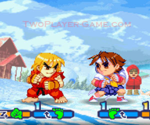 Pocket Fighter, 2 player fighter game, Play Pocket Fighter Game at twoplayer-game.com.,Play online free game.