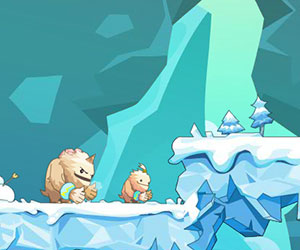 Snow Monsters, 2 player games, Play Snow Monsters Game at twoplayer-game.com.,Play online free game.