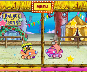 Sponge Bob Square Pants: Bikini Bottom Carnival Part 2, 2 player Sponge Bob Game, Play Sponge Bob Square Pants: Bikini Bottom Carnival Part 2 Game at twoplayer-game.com.,Play online free game.