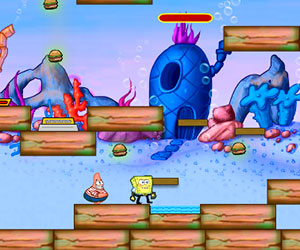 SpongeBob And Patrick Escape 2, 2 player RPG game, Play SpongeBob And Patrick Escape 2 Game at twoplayer-game.com.,Play online free game.
