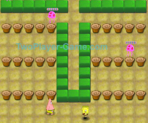 Spongebob Battle, 2 player games, Play Spongebob Battle Game at twoplayer-game.com.,Play online free game.