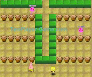 Spongebob Battle, 2 player games, Play Spongebob Battle Game at twoplayer-game.com.,Play online free game.
