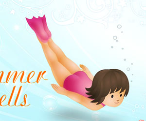 Summer Shells, 2 player games, Play Summer Shells Game at twoplayer-game.com.,Play online free game.