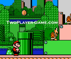 2 player mario brothers game