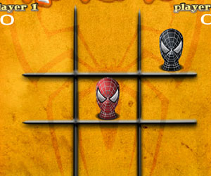 tic tac toe spiderman, 2 player games, Play tic tac toe spiderman Game at twoplayer-game.com.,Play online free game.