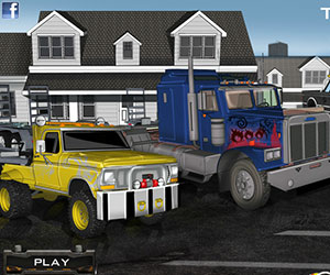 Trailer Racing 2, 2 player games, Play Trailer Racing 2 Game at twoplayer-game.com.,Play online free game.