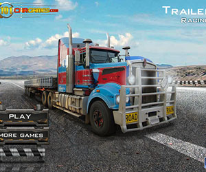 Trailer Racing, 2 player games, Play Trailer Racing Game at twoplayer-game.com.,Play online free game.